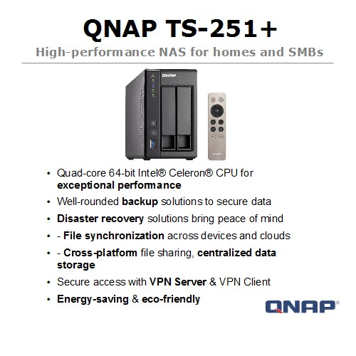 QNAP Network Attached Storage