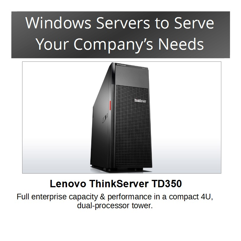 Servers From Lenovo and IBM
