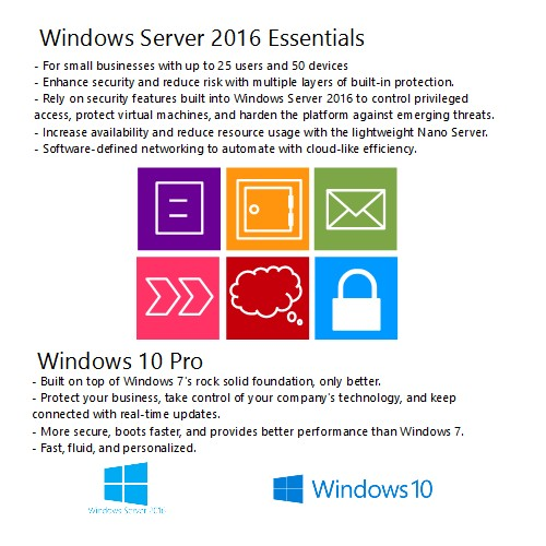 Windows 10 and Windows Server 2016