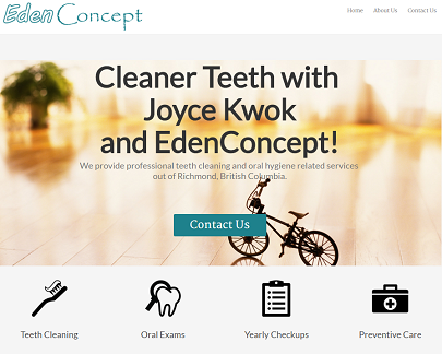 Edenconcept Dental Hygiene Website