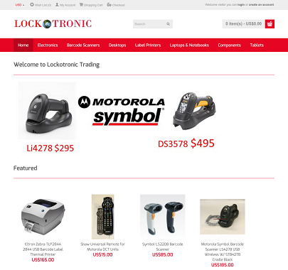 Lockotronic Trading Website